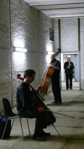 """Improvisationsperformance in den """"Berliner Unterwelten"""" 2012"""